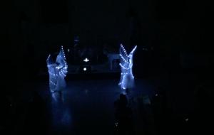 Eventbeleuchtung Schlafkongress - Tänzerinnen